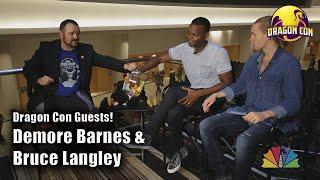 Demore Barnes & Bruce Langley @ Dragon Con 2018 [dragoncontv]