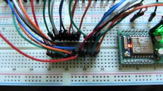 How To Use A MCP23017 I2C Port Expander With The Raspberry
