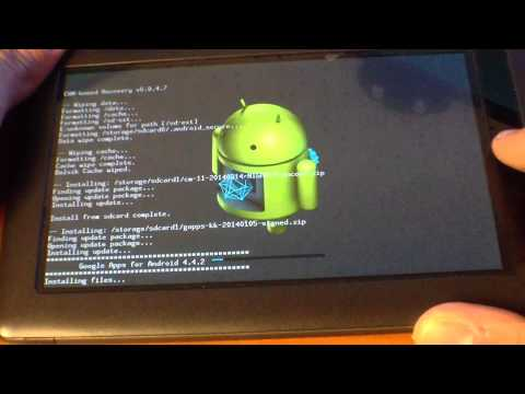 How To Install CM 11 On The Nook Color 1.4.3 UPDATED