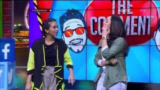 Ayushita dan Gita Sinaga Bermain Games Sambung Lirik