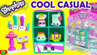 Shopkins Cool Casual Collection Playset Season 3 Fashion Spree