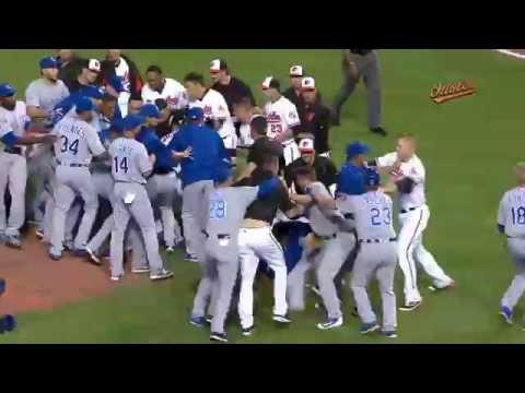 Pelea  del Año en Grandes Ligas |Yordano Ventura vs Manny Machado