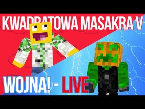 KWADRATOWA MASAKRA V WOJNA live