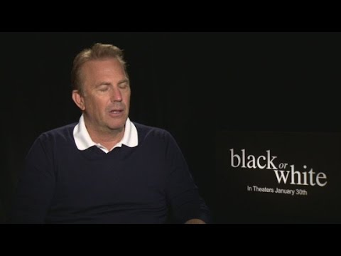 Kevin Costner and Octavia Spencer on 'Black Or White'