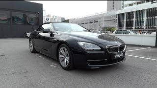 2011 BMW 640i Convertible Start-Up and Full Vehicle Tour