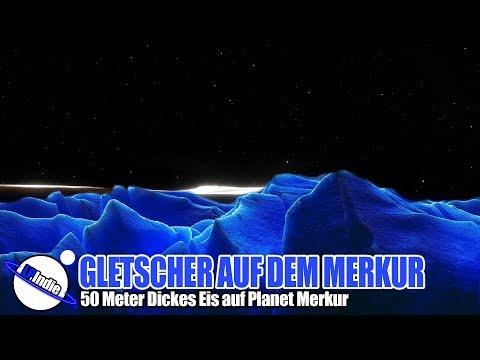 Unglaublich: Gletscher auf Merkur - 50 Meter Dicke Eisschicht entdeckt
