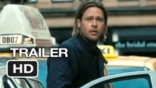 World War Z - World War Z Official Trailer #1 (2013) - Brad Pitt Movie HD
