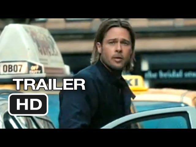 World War Z Official Trailer #1 (2013) – Brad Pitt Movie HD