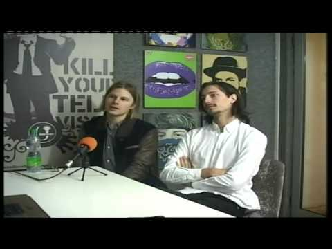 VITA BERGEN Swedish Band live @ Radio Urban FM & Rrokum TV