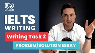 IELTS Writing Task 2 | PROBLEM / SOLUTION ESSAY with Jay!