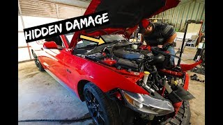 Everything Wrong with $10,000 Wrecked 2017 Mustang GT