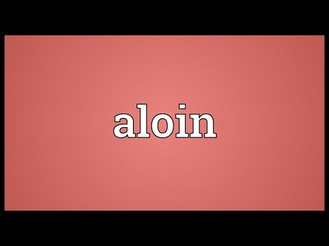 Header of aloin