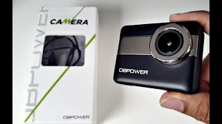4K Action Sports Camera - 20MP - TOUCH SCREEN -Waterproof (30M) - by DBPOWER