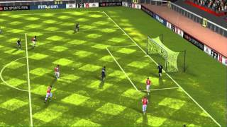 FIFA 14 iPhone/iPad - Manchester Utd vs. Arsenal