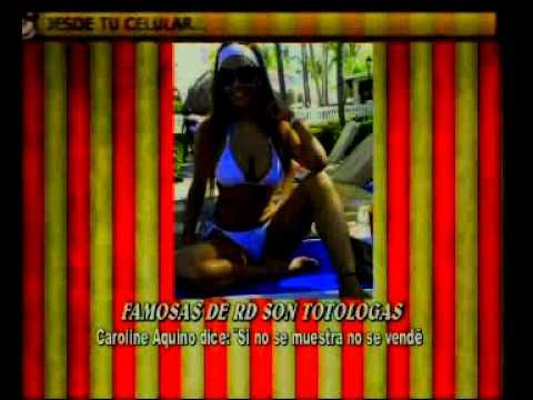 FAMOSAS DE RD SON TOTOLOGAS