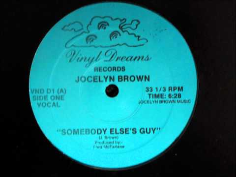 Jocelyn Brown - Somebody Else´s Guy Original 12 inch Version 1984.