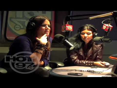 Hot 97 - Angie Martinez Interviews Khloe and Kourtney Kardashian