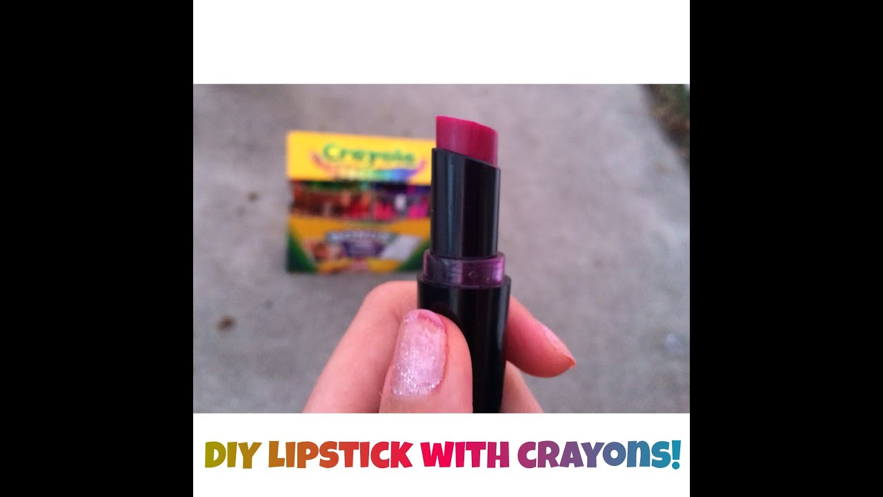 how to make lipstick out of crayons in the microwave