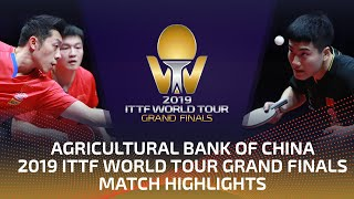 Fan Zhendong/Xu Xin vs Lin Gaoyuan/Liang J. | 2019 ITTF World Tour Grand Finals Highlights (1/2)