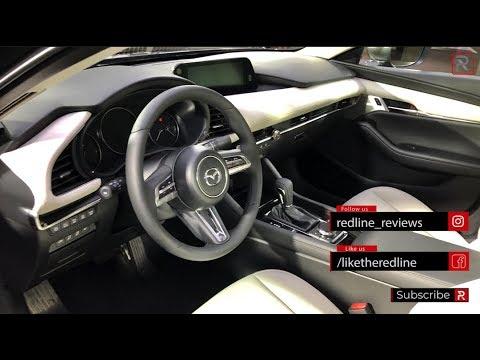 2019 Mazda3 Interior Infotainment Redline First Look 2018 La