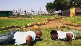 Bhekumuzi and Qaphela's Gym workout -Isibaya