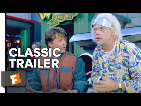 Back to the Future Part 2 Official Trailer #1 - Christopher Lloyd Movie (1989) HD
