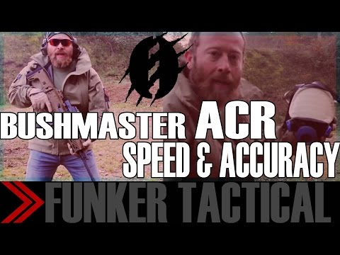 Bushmaster ACR   Fast Shooting Drills   Instructor Zero