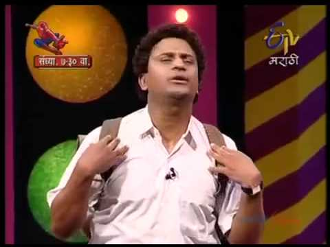 Comedy Express   Guruji   Bandu s new yeAR BY prasad jadhav