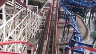 The Big Dipper HD POV (front row) Blackpool England UK