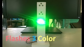 How to Make LED Flashes 3 Color | Traffic Lights Type