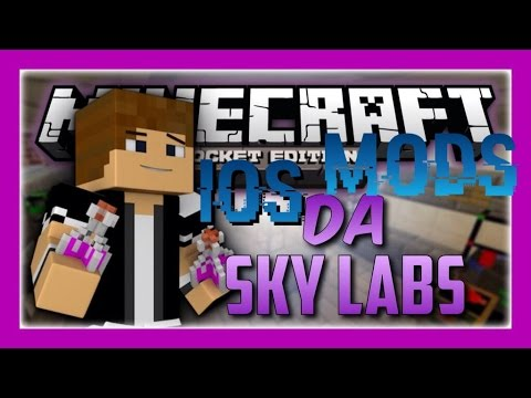 [0.9.5] Da Sky Labs-IOS Mod review-fly in survival and water to lava mod