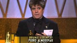 Pedro Almodóvar Wins Original Screenplay: 2003 Oscars