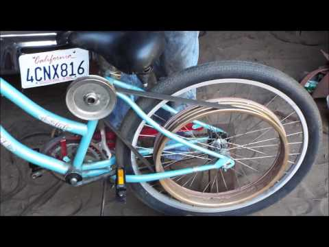 Maytag model 72 powered motor bike project part 1