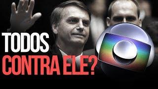 Globo e artistas contra Bolsonaro. | por Renan Santos