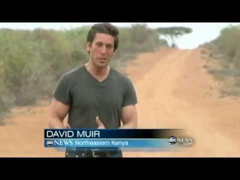 Clips of David Muir reporting on Somalia famine. (Hunk Edition)