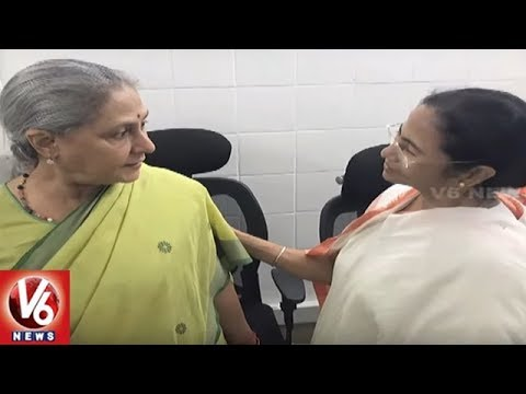 Mamata Banerjee Meets National Leaders On Assam NRC And Anti-BJP Alliance For 2019 Polls | V6 News