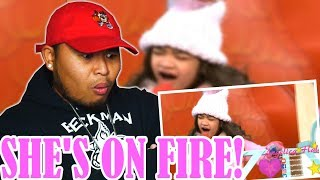 "10 Year Old Angelica Hale Sings ""Girl On Fire"" 