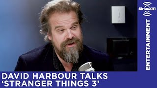 David Harbour Spills All He Can About 'Stranger Things 3'