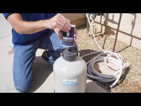 How To Regenerate an ABCwaters Portable Water Softener System
