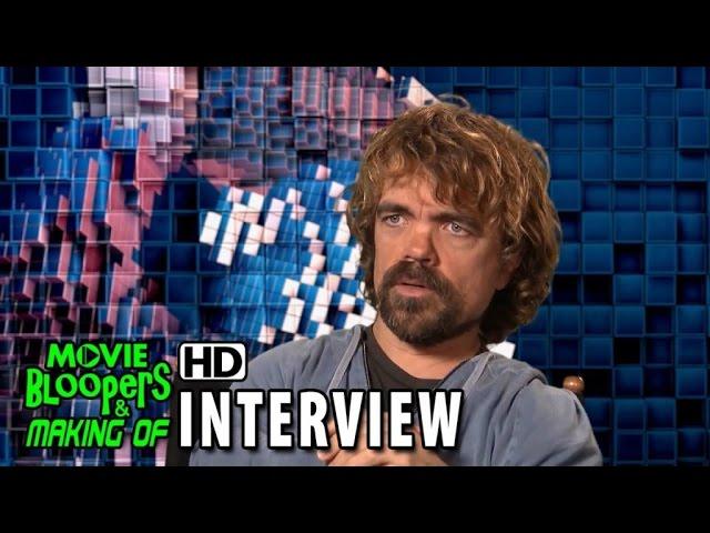 Pixels (2015) Behind the Scenes Movie Interview - Peter Dinklage is 'Eddie'