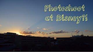 Photo shoot at Disney?!