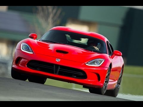 2013 SRT Viper 0-60 MPH First Drive Review