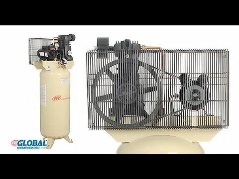Ingersoll Rand Air Compressor - 11.8/5 Hp 60 Gallon 230v