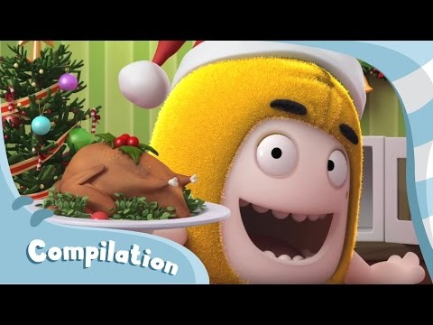 Oddbods Christmas Compilation