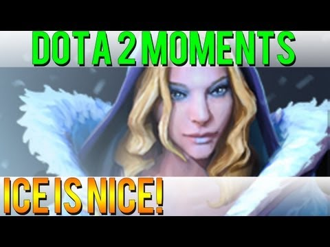 Dota 2 Moments - Ice is Nice!