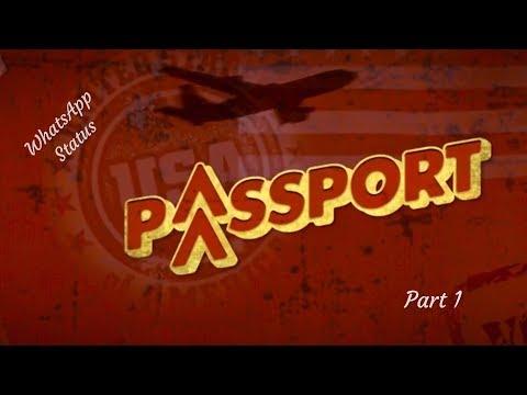 Part 1 Of 2 | Passport Gujarati Movie Song | Gujarati WhatsApp Status thumbnail