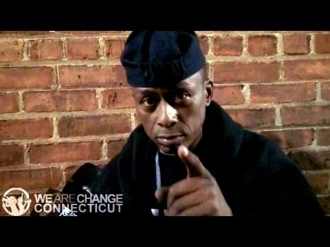 Professor Griff Drops Knowledge to WeAreChangeCT