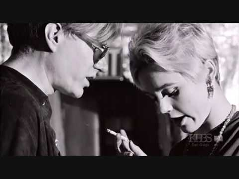 Edie Sedgwick Andy Warhol have a conversation about filming the next day w