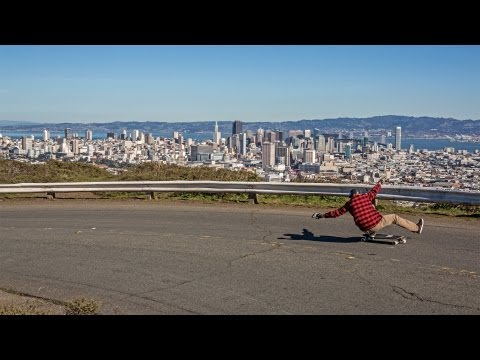Longboarding: San Francisco Sunset