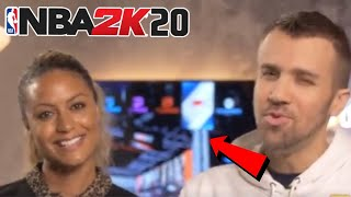 NEW NBA 2K20 FIRST LOOK AT NBA 2K20 MENU LEAKED 2K20 MENU TWITCH,YOUTUBE LOGOS ON NBA 2K20 LEAKED!